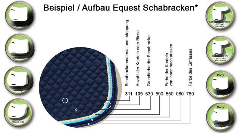 Equest Einfassbänder für Schabracken