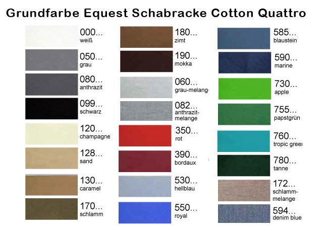 Grundfarben Equest Schabracken - Make it your Own