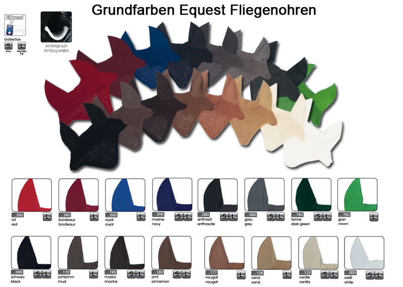 Grundfarben Equest Fliegenhauben - Make it your Own