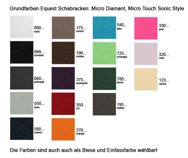 Grundfarben Equest Micro Schabracken - Make it your Own