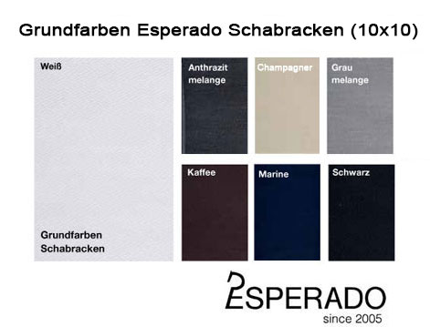 Grundfarben Esperado Schabracken - Create Your Own Collection