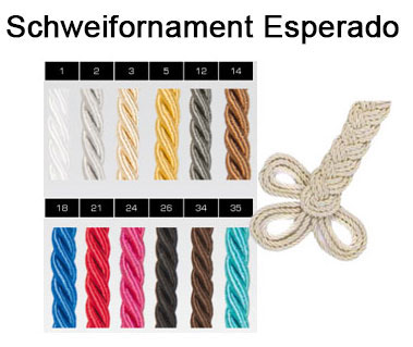 Schweifornament Abschwitzdecken Esperado Schabracken - Create Your Own Collection