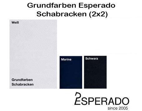 Esperado 2x2 Schabracken Grundfarbe 2017