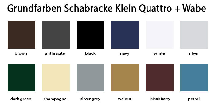 Schabrackenland Schabracken Grundfarbe